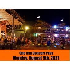 Concert Pass - Monday, August 09, 2021