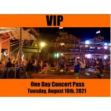 VIP Concert Pass - Tuesday, August 10, 2021