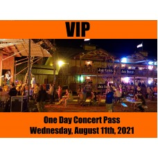 VIP Concert Pass - Wednesday, August 11, 2021
