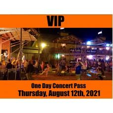 VIP Concert Pass - Friday, August 13, 2021