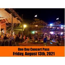 Concert Pass - Friday, August 13, 2021