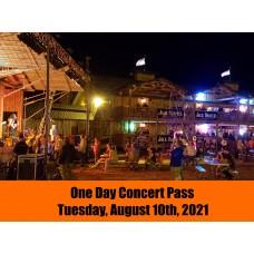 Concert Pass - Tuesday, August 10, 2021