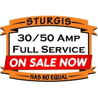 Full Service RV Site ( Electric, Water, Sewer ) 30/50 Amp - SOFT TAIL