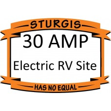 Electric Only RV Site (no water and no sewer) – 30 amp
