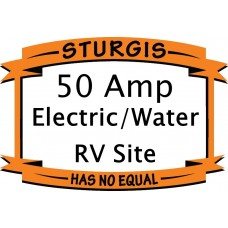 Electric & Water RV Site - 50 Amp - LOWRIDER