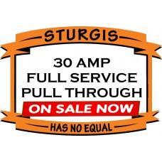 30/50 Amp Full Service - MEADOWS PULL THROUGH
